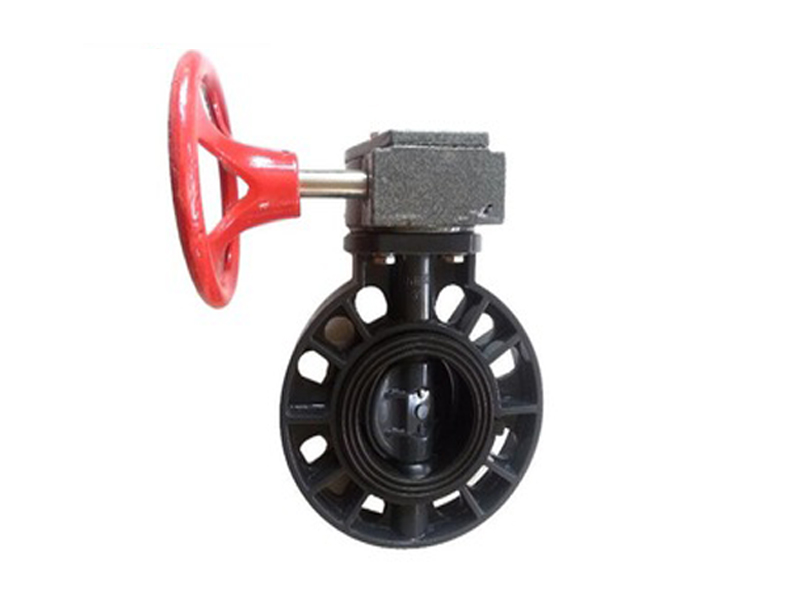 PVC Male Union Valve Gear Type